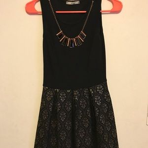 Medium Length Papaya Dress